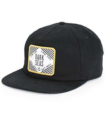 Dark Seas Heeling Strapback Hat