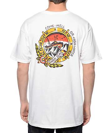 Dark Seas High Water White T-Shirt
