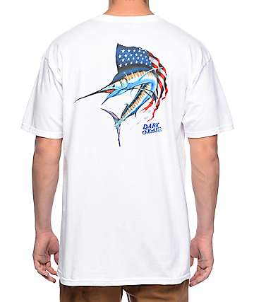Dark Seas Independence White T-Shirt
