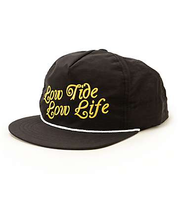 Dark Seas Kedge Snapback Hat