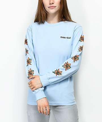 Dark Seas Memorial Blue Long Sleeve T-Shirt