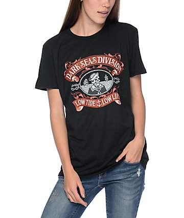 Dark Seas Midshipmam Black All Day T-Shirt