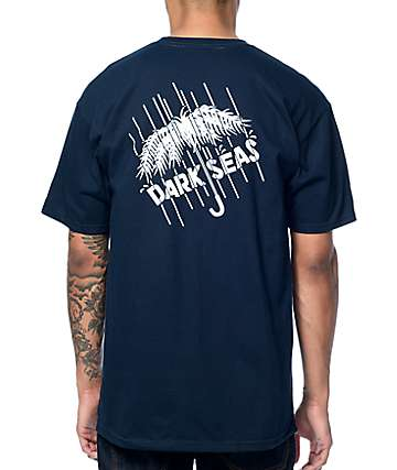 Dark Seas Monsoon Navy T-Shirt