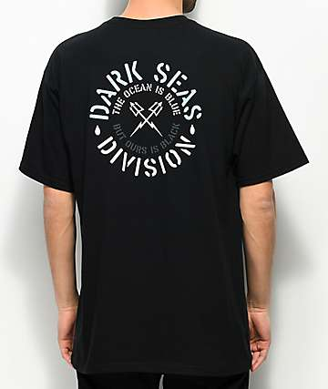 Dark Seas Overflow Black T-Shirt