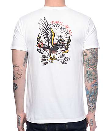 Dark Seas Protected camiseta blanca