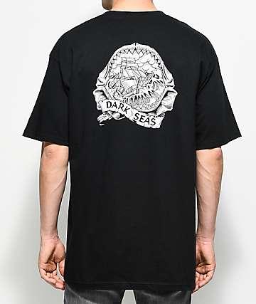 Dark Seas Rumors Black T-Shirt