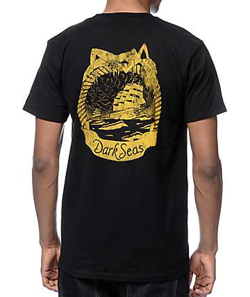 Dark Seas Tall Tale Black T-Shirt
