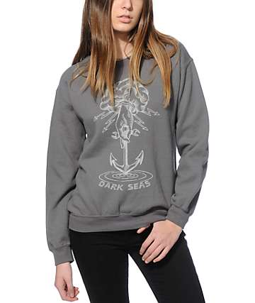 Dark Seas Whirlpool Crew Neck Sweatshirt