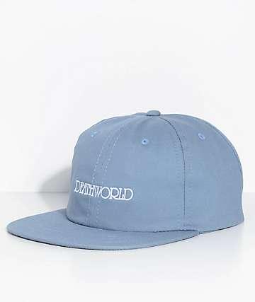 Death World Grandeur Blue Strapback Hat