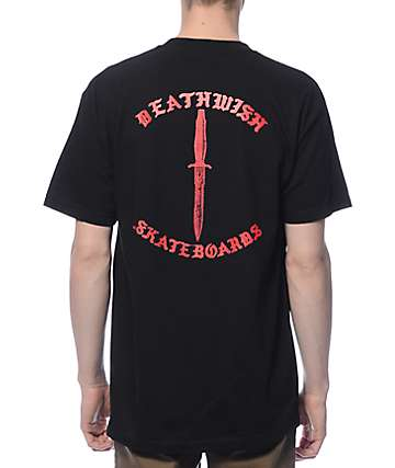 Deathwish Deadly Intent Black T-Shirt