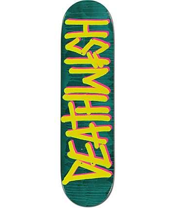 """Deathwish Deathspray Drip Aqua 8.125"""" Skateboard Deck"""