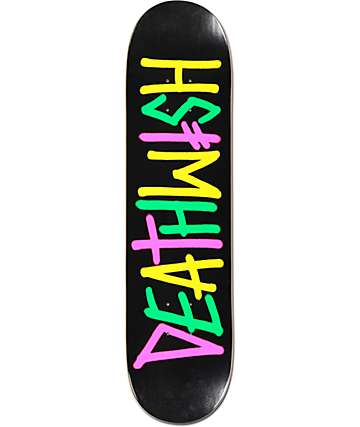 "Deathwish Deathspray Multi OG 7.75"" Skateboard Deck"