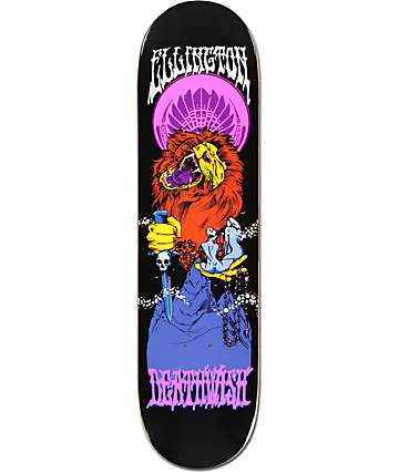 "Deathwish Ellington Blacklight 8.125"" Skateboard Deck"