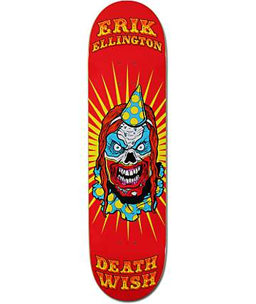 "Deathwish Ellington Clowns 8.25"" Skateboard Deck"