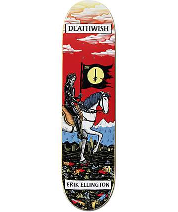 "Deathwish Ellington Tarot Card 7.875"" Skateboard Deck"