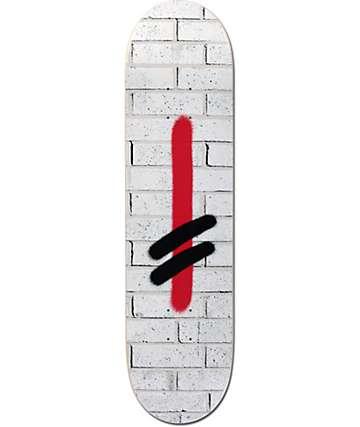 """Deathwish Greco Brick Stamped 8.0""""  Skateboard Deck"""