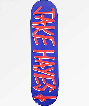 "Deathwish Jake Hayes Gang Name 8.25"" Skateboard Deck"