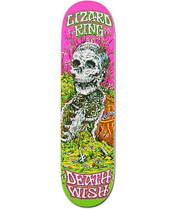 "Deathwish Lizard King Buried Alive 8.25""  Skateboard Deck"