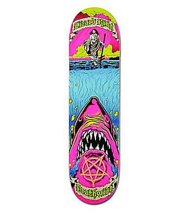 "Deathwish Lizard King Holy Chum 8.0"" Skateboard Deck"