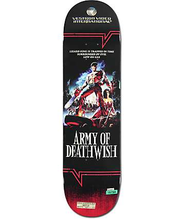"Deathwish Lizard King VHS Wasteland 8.25"" Skateboard Deck"