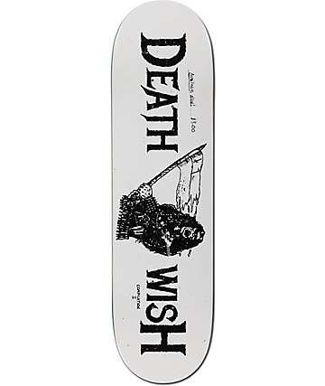 """Deathwish Metal Uprising 8.475""""  Skateboard Deck"""