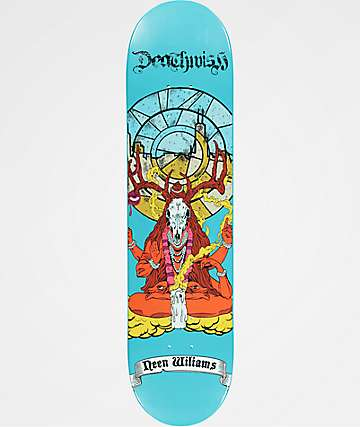 "Deathwish Neen All Saints 7.75"" Skateboard Deck"