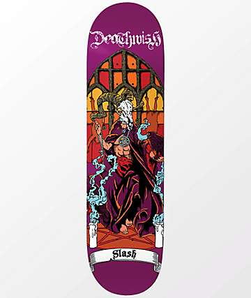 "Deathwish Slash All Saints 8.0"" Skateboard Deck"