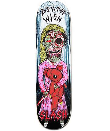 "Deathwish Slash Lost Girl 8.5""  Skateboard Deck"