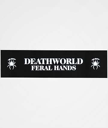 Deathworld Logo pegatina