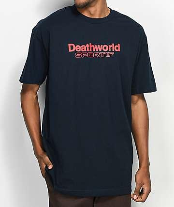 Deathworld Sportif camiseta en azul marino