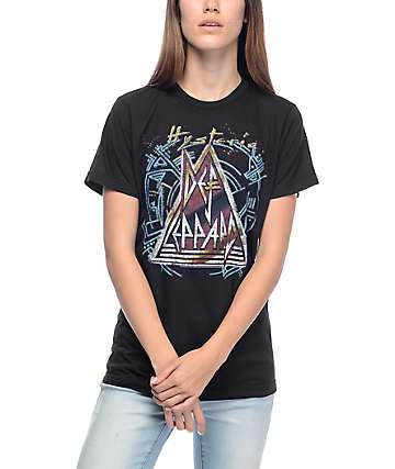 Def Leppard Black T-Shirt