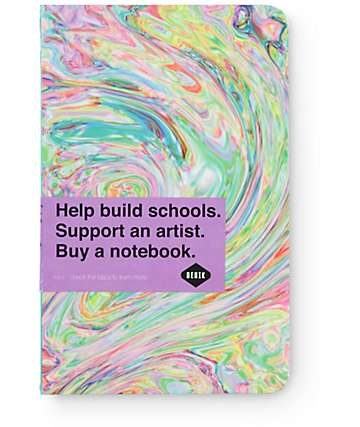 Denik Ice Cream Swirl Notebook