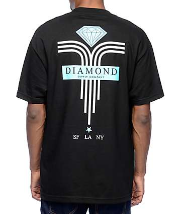 Diamond Mach 5 Black T-Shirt