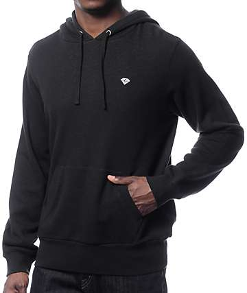 Diamond Pavilion Black Terry Hoodie