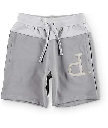 Diamond Schoolyard Grey Sweatshorts