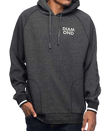 Diamond Supply Co Blur Performance Black Speckle Hoodie