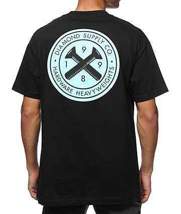 Diamond Supply Co Bolts Seal T-Shirt