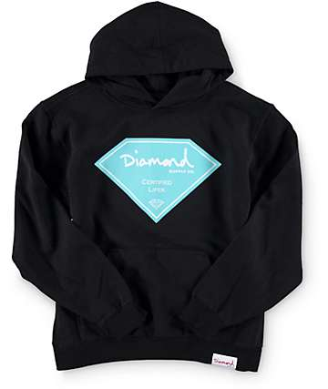 Diamond Supply Co Boys Certified Lifer Hoodie