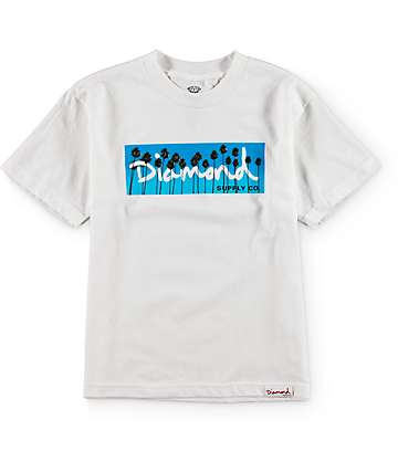 Diamond Supply Co Boys OG Palms T-Shirt