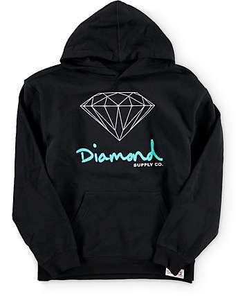 Diamond Supply Co Boys OG Sign Hoodie