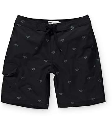 "Diamond Supply Co Brilliant 19.5""  Board Shorts"