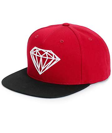 Diamond Supply Co Brilliant 2 Tone Snapback Hat
