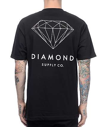 Diamond Supply Co Brilliant Black T-Shirt