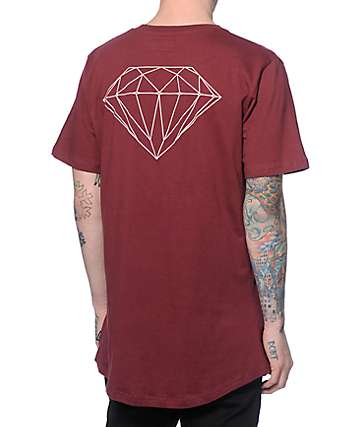 Diamond Supply Co Brilliant Long T-Shirt