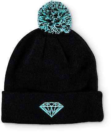Diamond Supply Co Brilliant Pom Beanie