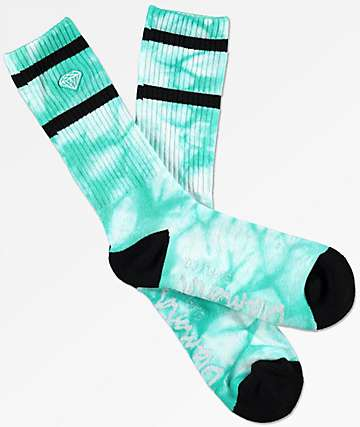 Diamond Supply Co Brilliant Stripe Tie Dye Crew Socks