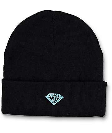 Diamond Supply Co Brilliant gorro negro