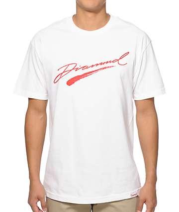 Diamond Supply Co Brush Script T-Shirt