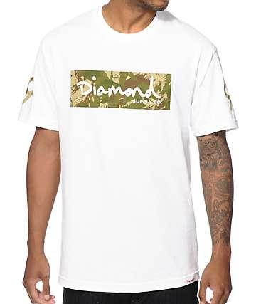 Diamond Supply Co Camo Box Logo T-Shirt