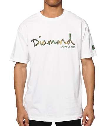 Diamond Supply Co Camo OG Script T-Shirt